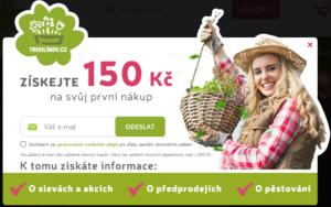 Sleva 150 Kč na objednávku - Truhlíkov.cz