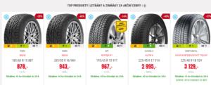 Sleva 40 % na zimní pneumatiky - Pneuboss