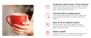Akce Vánoce / Nový Rok 2020 - pouzdro zdarma, delší záruka na Huawei.cz