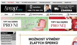 slevové kupóny a kódy Sperky-eshop.cz