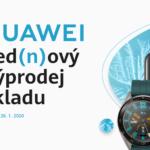 Lednový výprodej: 1+1 zdarma a slevy až 44 % na Huawei.cz