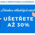Sleva 30 % - SVĚTSoučástek.cz (Svět součástek)