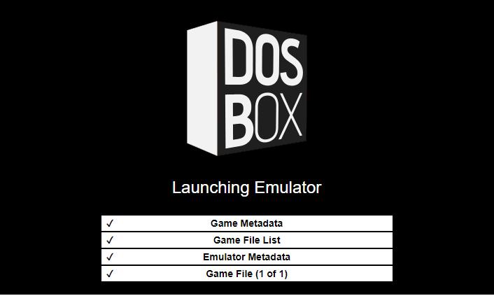 spouštění dosbox emulátoru