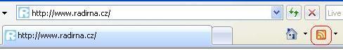Internet Explorer RSS