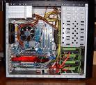 Průřez počítačovou skříní