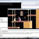 Virtualizovaný DosBox a v něm Prince