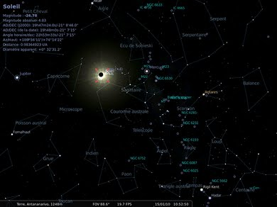 Mapa Mapa Oblohy Online