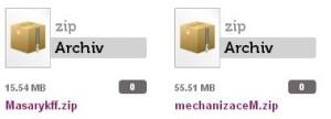 zip soubory