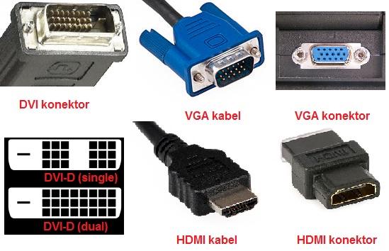 DVI vs. VGA vs. HDMI