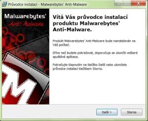 Instalace Anti-Malware
