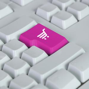 nákupní košík - klávesa
