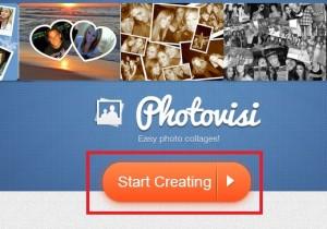 Nejprve klikněte na tlačítko Start Creating