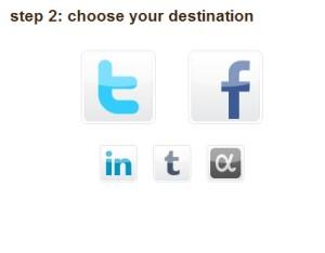 Propojení se sociální sítí