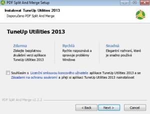 Zrušení instalace TuneUp