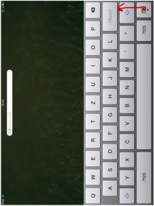 Odpojení klávesnice