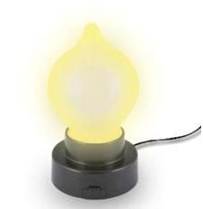 Pevně stojící lampička