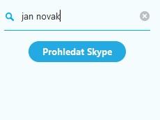 Prohledat Skype