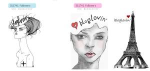 Ikonky na webech, které můžete sledovat přes Bloglovin