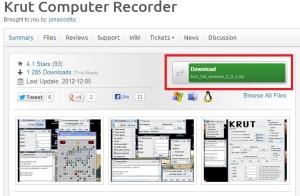 Z domovské stránky programu pokračujte kliknutím na označené tlačítko