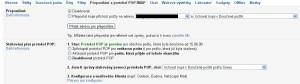 Gmail: přidání adresy k přeposílání