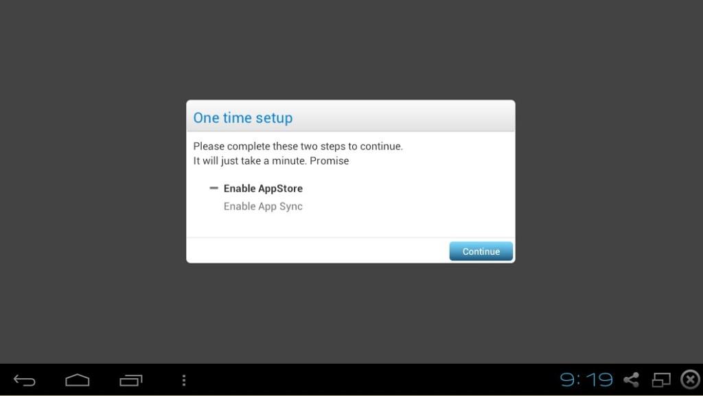 Nastavení App Store