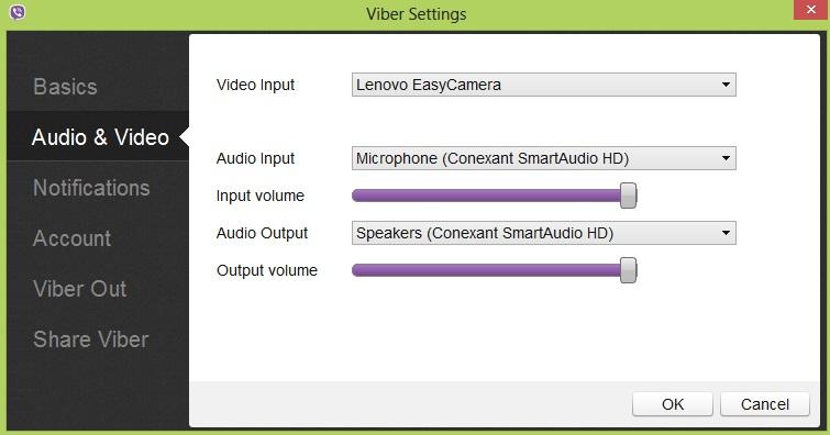Audio a video