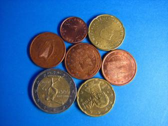 peníze - eura
