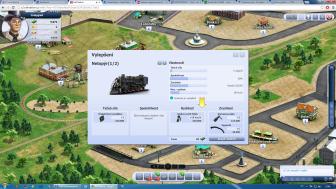 Rail Nation - herní prostředí