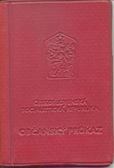 Občanka z dob ČSSR