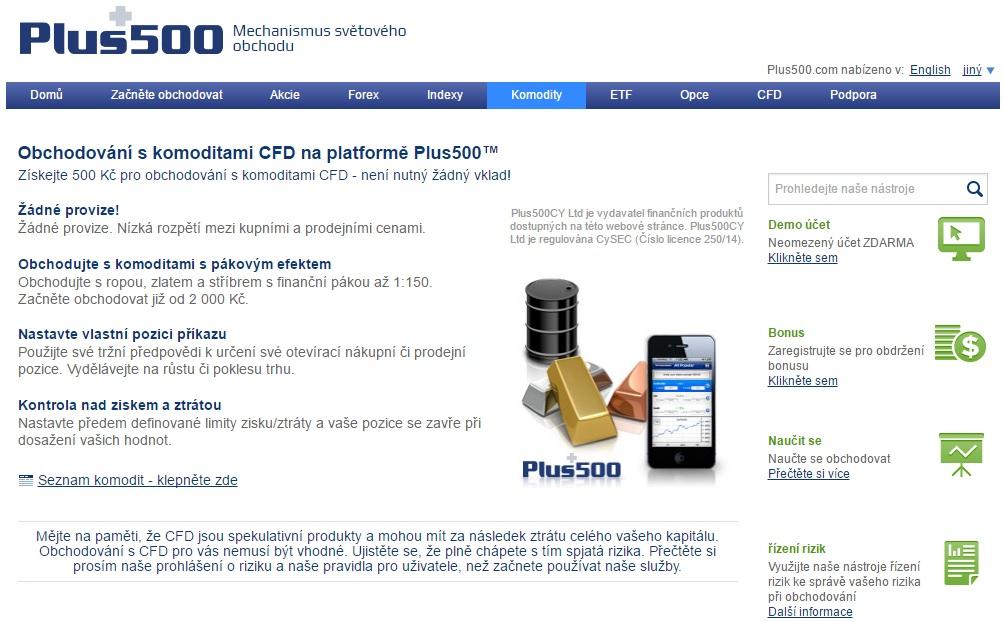 Plus500 – recenze, diskuze, zkušenosti