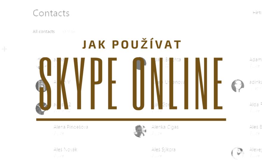 Skype online – bez instalace