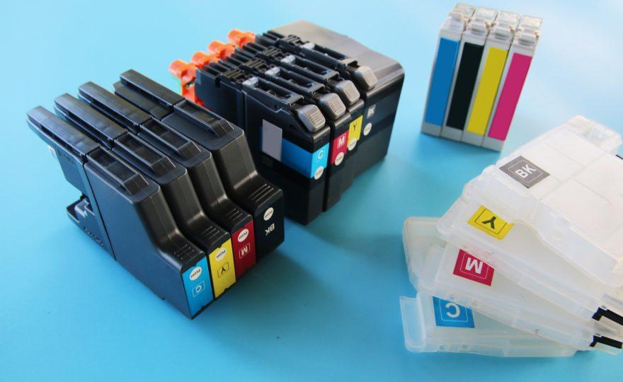 Jak vybrat inkoustovou cartridge