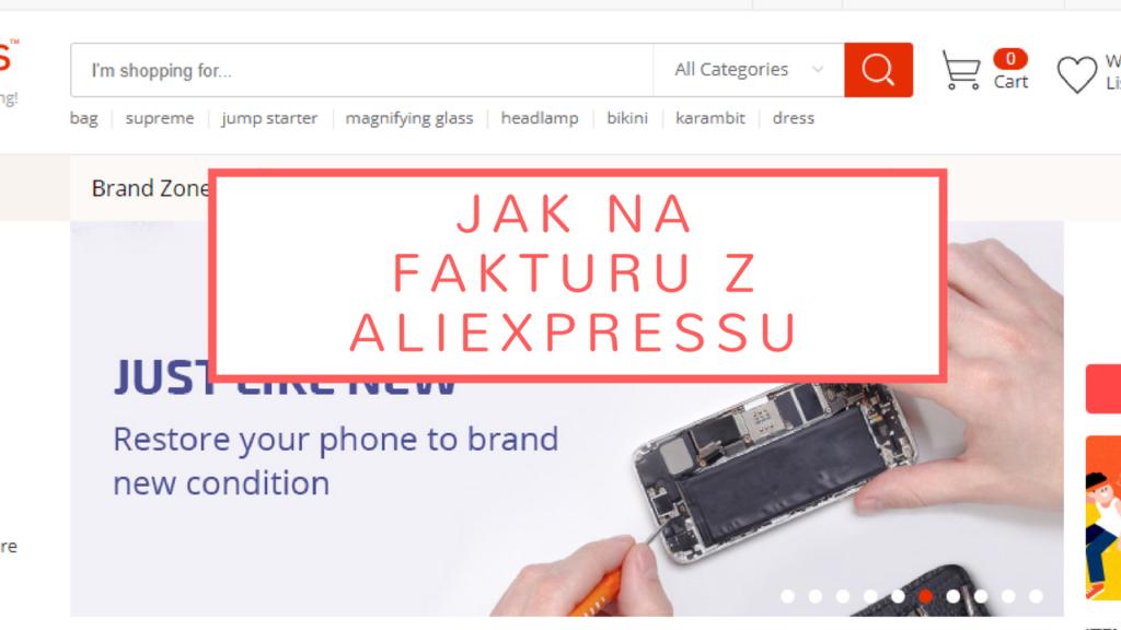 Aliexpress – jak na fakturu
