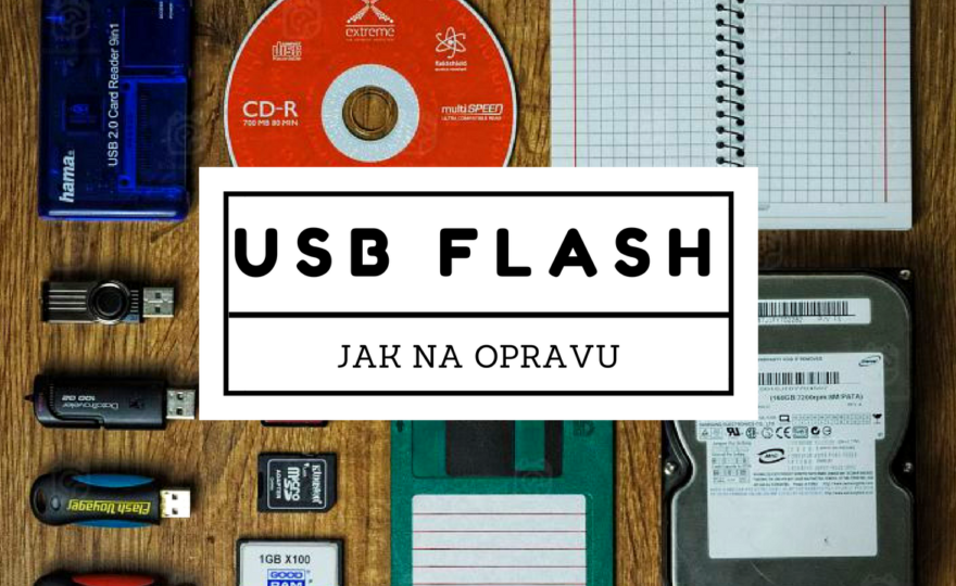 Programy na opravu USB flash disku