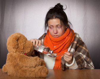 Babské rady jak na chřipku