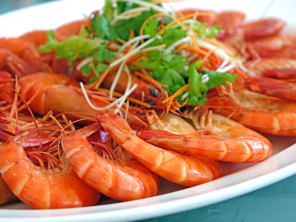 Jak jíst krevety
