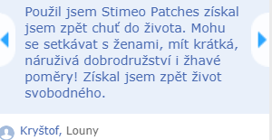 stimeo patches recenze