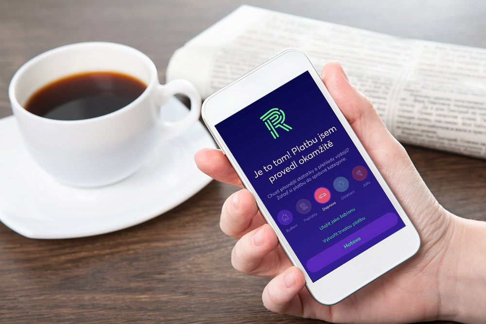 Richee dokáže spravovat všechny vaše bankovní účty vjediné aplikaci