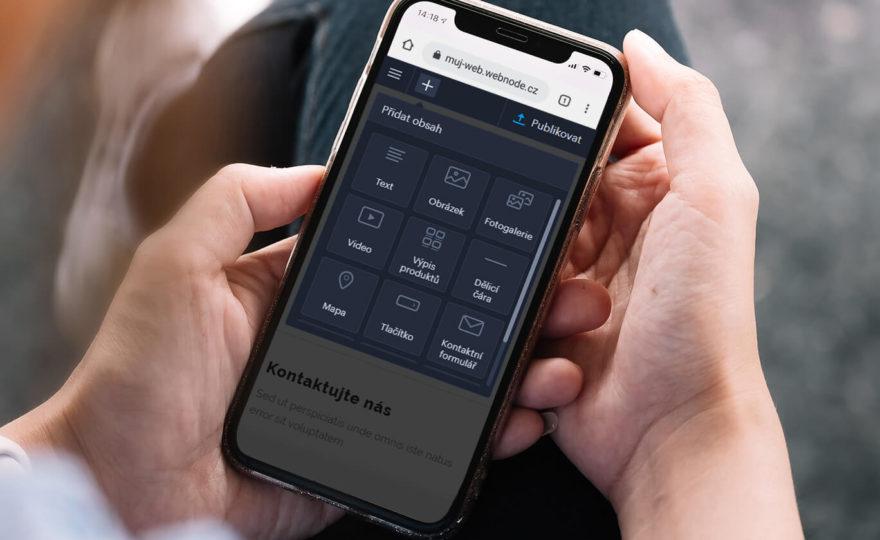 Jak založit web jen s pomocí mobilu nebo tabletu